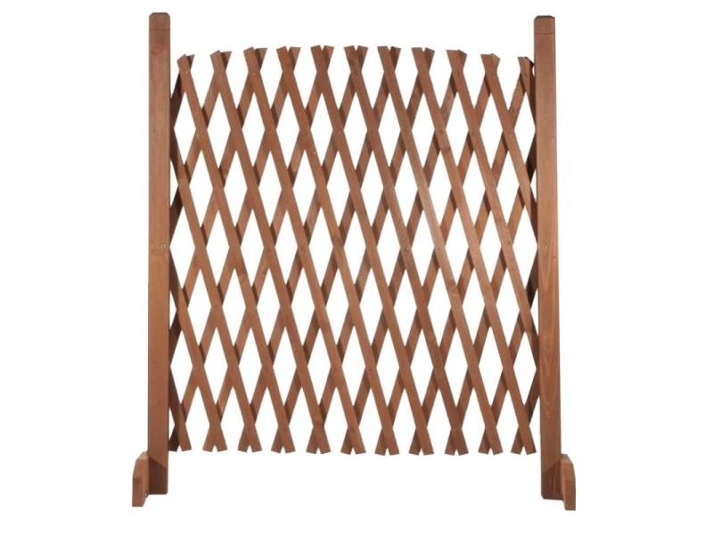 Barriere bois extensible 30 à 150 cm - Vente de ID MARKET ...