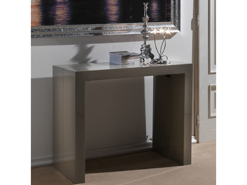 Console Extensible Taupe Vente Grande Virginia Design De Table w8kX0OPn