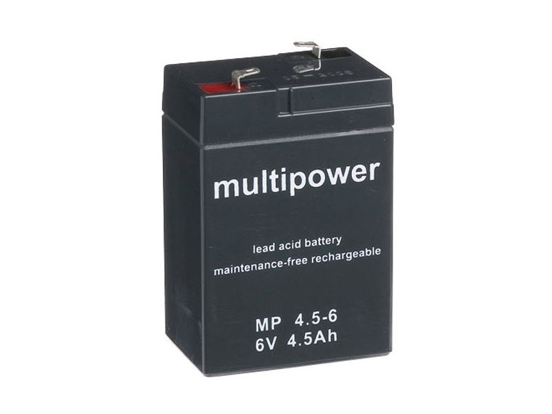 Accu au plomb pb multipower 70x47x101mm. reference : 8040389