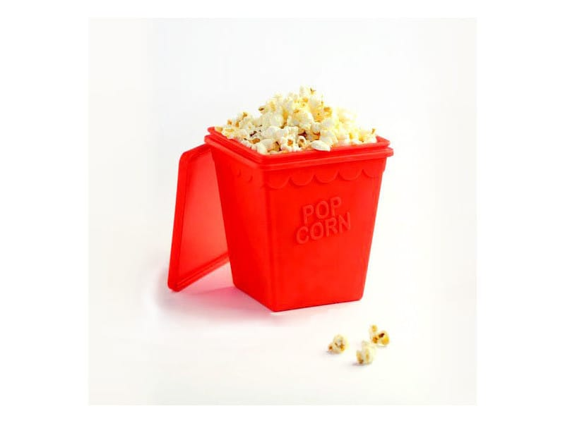 Appareil a pop corn superbe pot à pop-corn en silicone trendy pop rouge