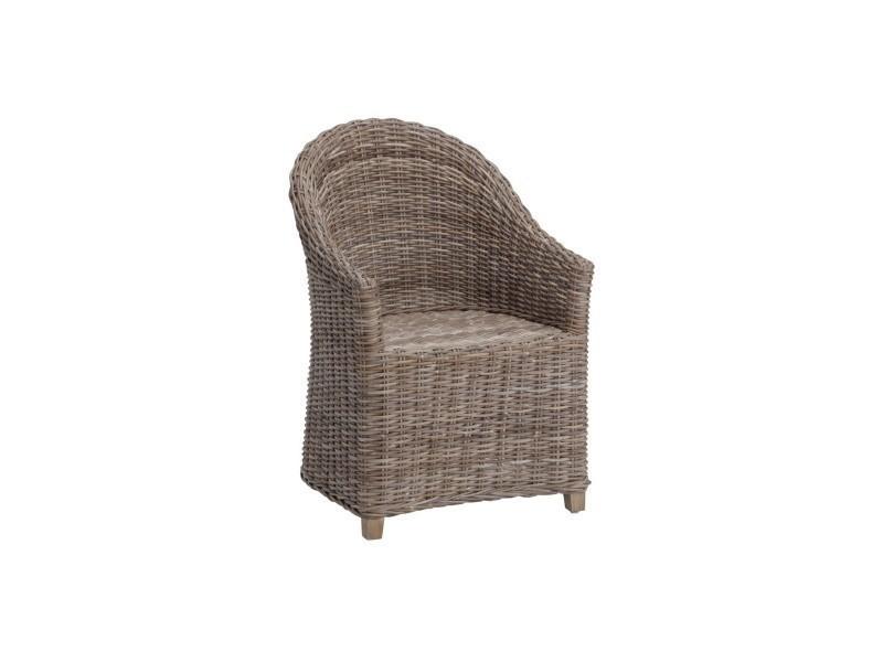 bridge en rotin romain kooboo gris vente de kok maison conforama. Black Bedroom Furniture Sets. Home Design Ideas