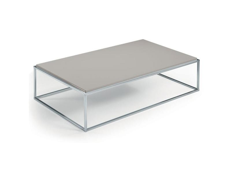 Table basse mimi rectangle taupe 20100847273