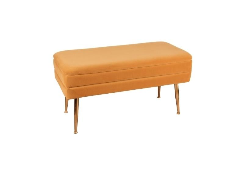 Banquette bibum orange 79x41 cm