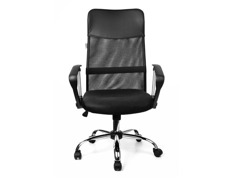 air plus fauteuil de bureau si ge en tissu inclinable noir vente de fauteuil de bureau conforama. Black Bedroom Furniture Sets. Home Design Ideas