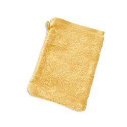 Gant de toilette 16x21 cm pure jaune 550 g/m2