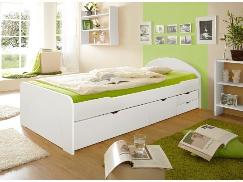 canap lit multifonction rangement int gr s tiroirs. Black Bedroom Furniture Sets. Home Design Ideas