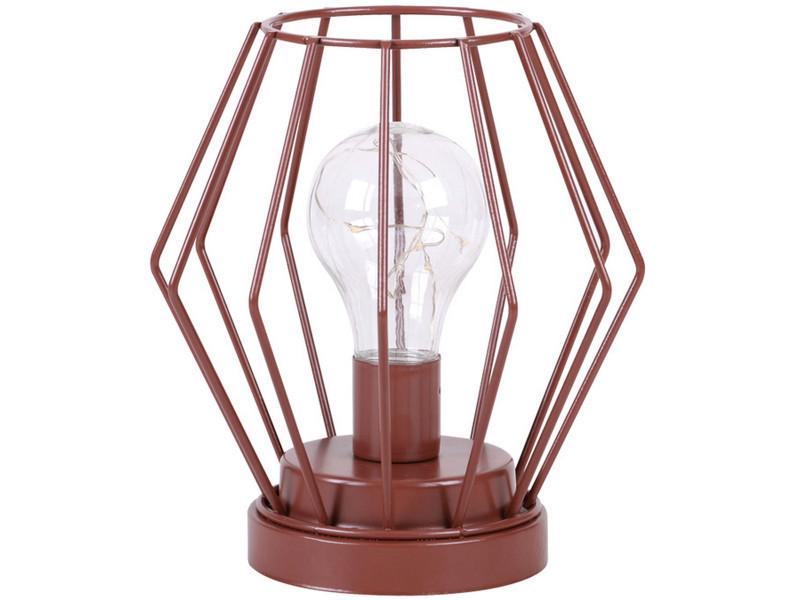 Led Alimentée Lampe Design Scandinave 8 Par H Cm 17 Piles Filaire IeH9WE2YD