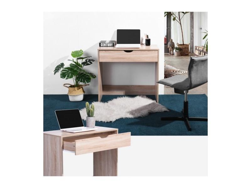 Bureau bois hêtre tiroir vente de calicosy conforama