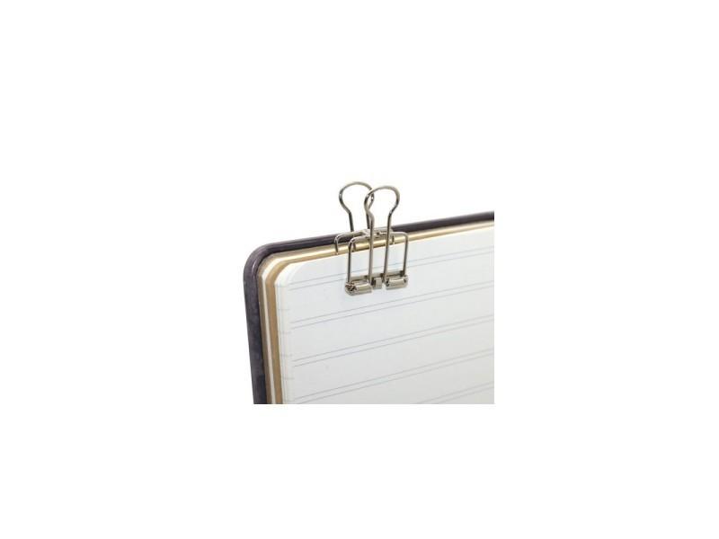 Pièces clips creux classeur dossier en métal pour le bureau
