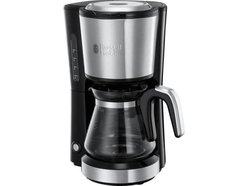 Russel hobbs 24210-56 - cafetiere compact home - inox brosse - 5 tasses - 1000w RUS4008496984091