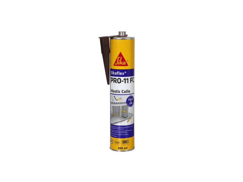 Mastic colle sika sikaflex pro 11 fc - marron - 300ml 7280