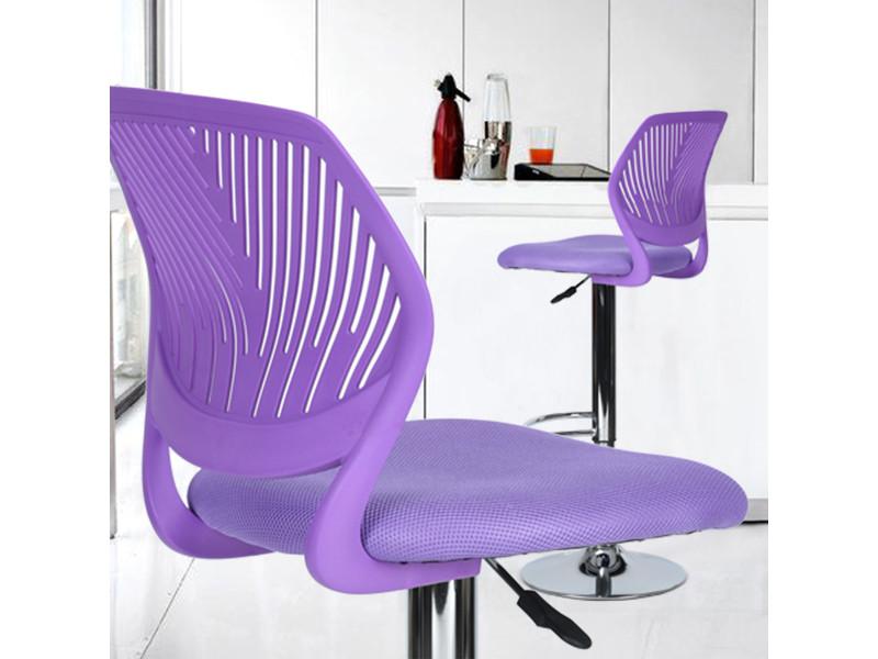 Tabouret Bar Chaise Haute Violet