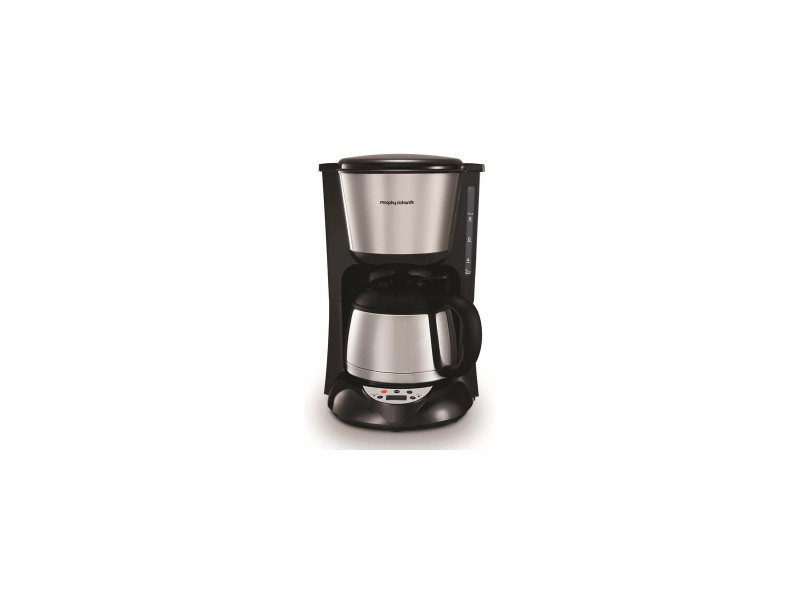 Cafetiere prog isotherme 8t 1l 800w accent selecteur d'arome inox morphy richards - m162771ee CDP-M162771EE