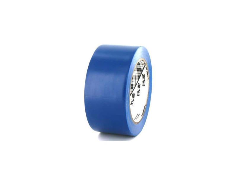 Ruban adhésif vinyle 3m 764 bleu 50mm 764B-50