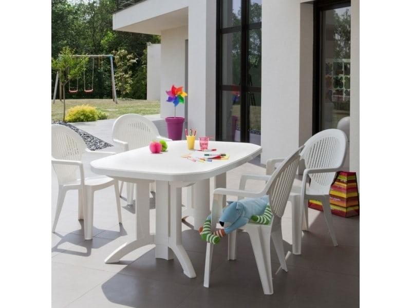 Table de jardin vega 165x100 grosfillex - Vente de GROSFILLEX ...
