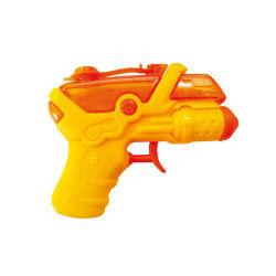 Pistolet à eau jaune et orange