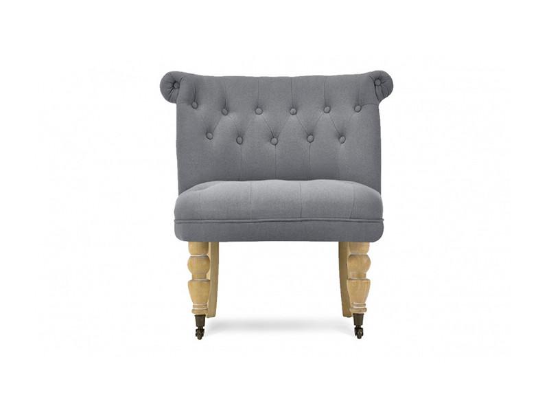 fauteuil crapaud lin anthracite castle vente de tous les fauteuils conforama. Black Bedroom Furniture Sets. Home Design Ideas