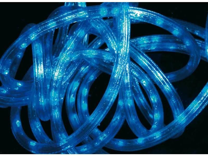 Tube led lumineux 6 mètres ext/int coloris bleu
