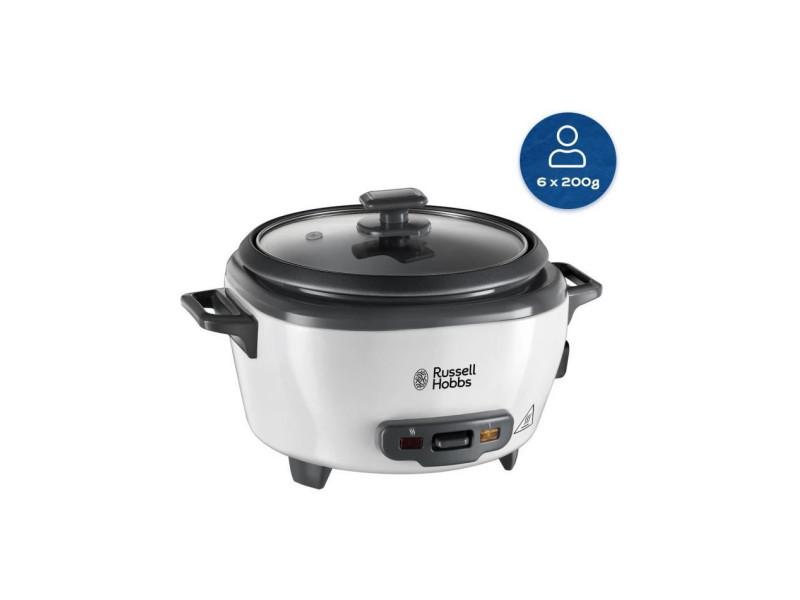 27030-56 - cuiseur riz - 1200g - 300w - panier vapeur - maintien au chaud - bol antiadhésif amovible - noir et … RUS5038061106947
