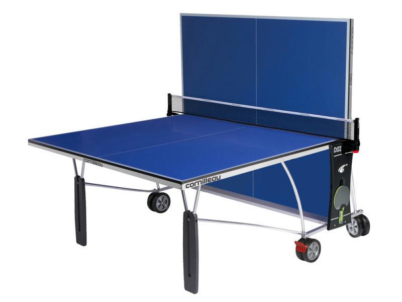 Table de ping pong sport 250 indoor vente de cornilleau conforama - Roue pour table de ping pong ...