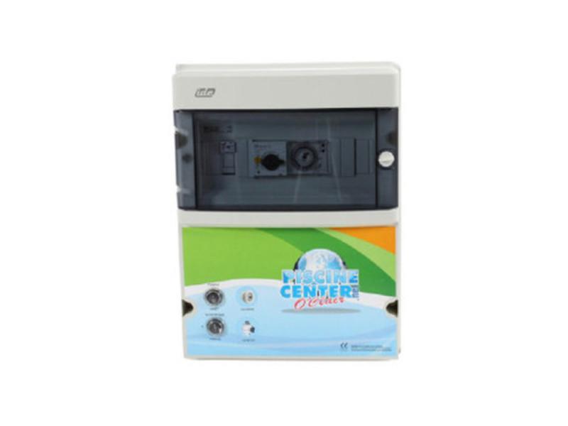 Coffret électrique de filtration piscine 2 projecteurs 300 va - wa conception