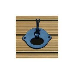 Lot 2 supports élastique à encastrer