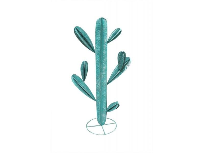 Cactus 110 cm en métal vert - cactus /l