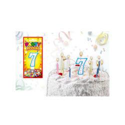 Bougies chiffres anniversaire - bougies chiffres anniversaire 7 - bougies chiffres anniversaire 7