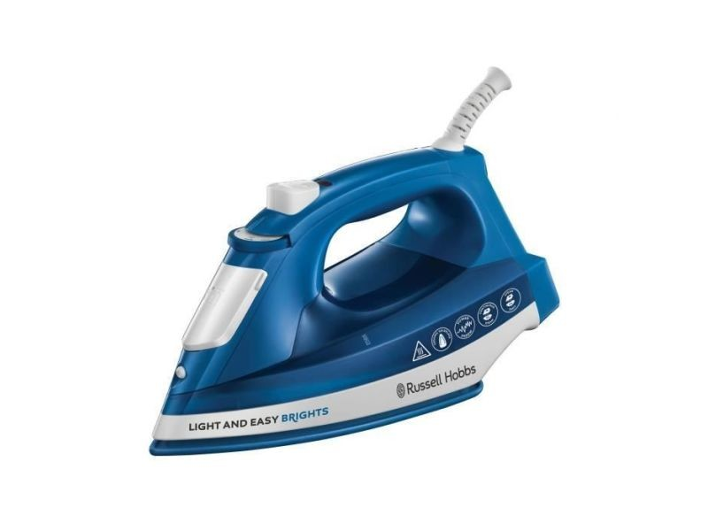 Russell hobbs 24830-56 fer a repasser vapeur light and easy, defroissage vertical possible - bleu RUS4008496936243