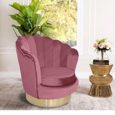 Fauteuil design pivotant golden rose Vente de Tous les