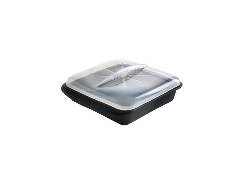 Papillote minute cuisson vapeur f69281 - taille xl - noir fumé MAS3485990692812