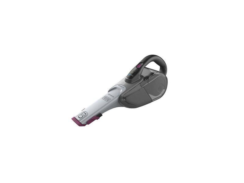 Black+decker dvj325bfs-qw aspirateur a main sans sac 10.8v 500 ml