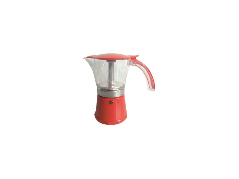 Cafetiere italienne nera 6 tasses NAR086144