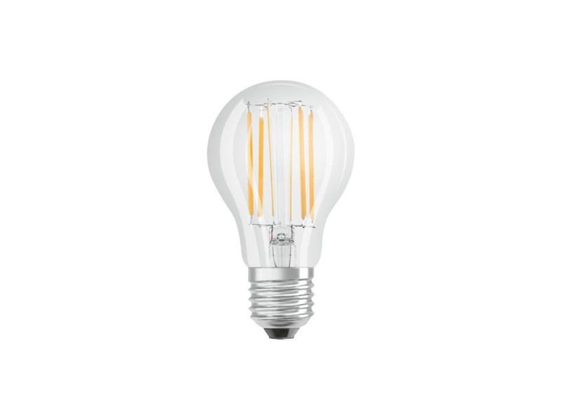 Bellalux lot de 6 ampoules led standard clair fil 7,5w75 e27 chaud BEL4058075302716
