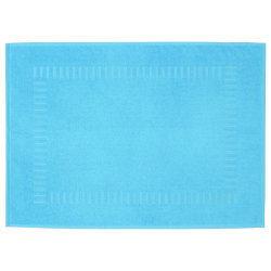 Tapis de bain 50x70 cm pure bleu océan 700 g/m2