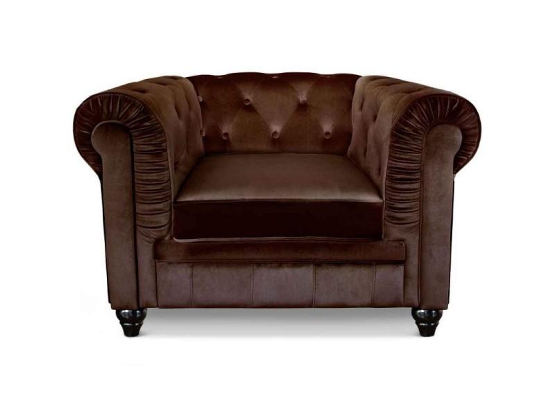 Paris prix - fauteuil design velours \