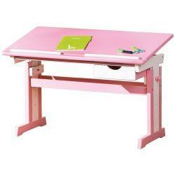 Bureau enfant rose Conforama