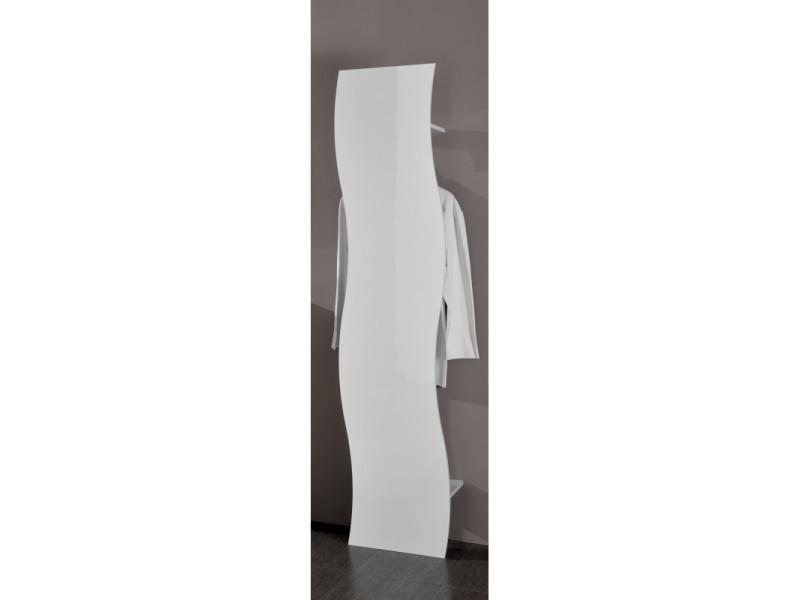 Vestiaire d'entrée moderne blanc laqué onida