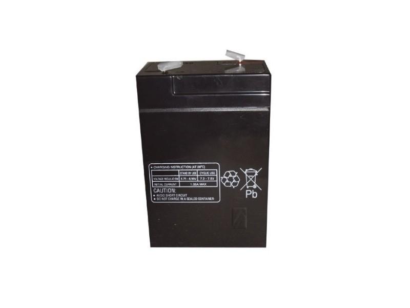 6,0v-4,5ah accu au plomb pb multipower 70x47x101mm