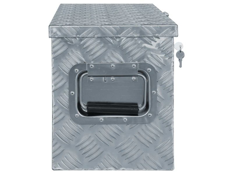 Icaverne - boîtes à outils edition boîte en aluminium 80 x 30 x 35 cm argenté
