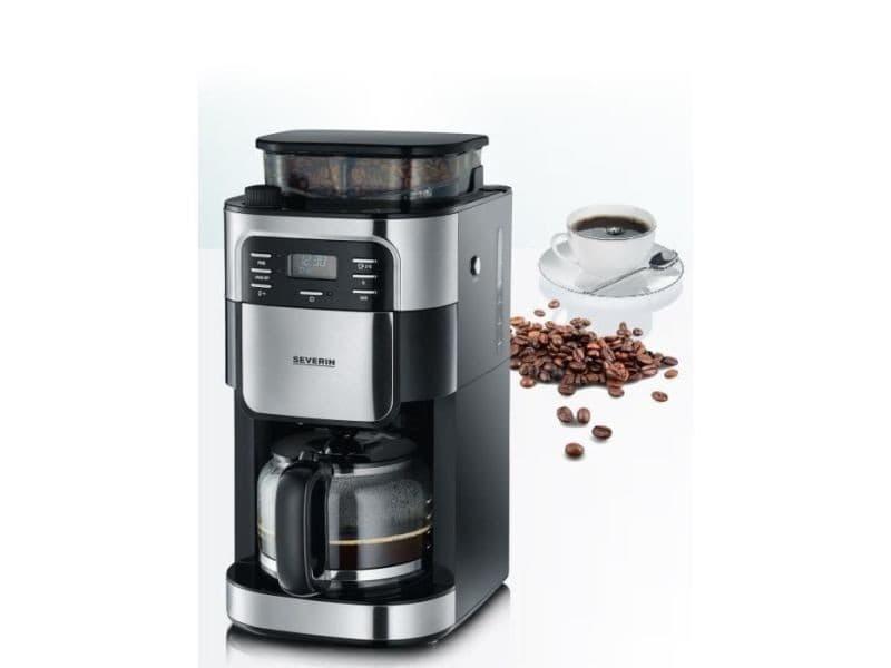 Cafetière avec broyeur intégré programmable 15 tasses 1000w - ka4810 SEV4008146022098