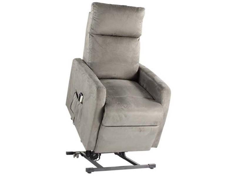mariel fauteuil releveur microfibres grise n 12 vente de tous les fauteuils conforama. Black Bedroom Furniture Sets. Home Design Ideas
