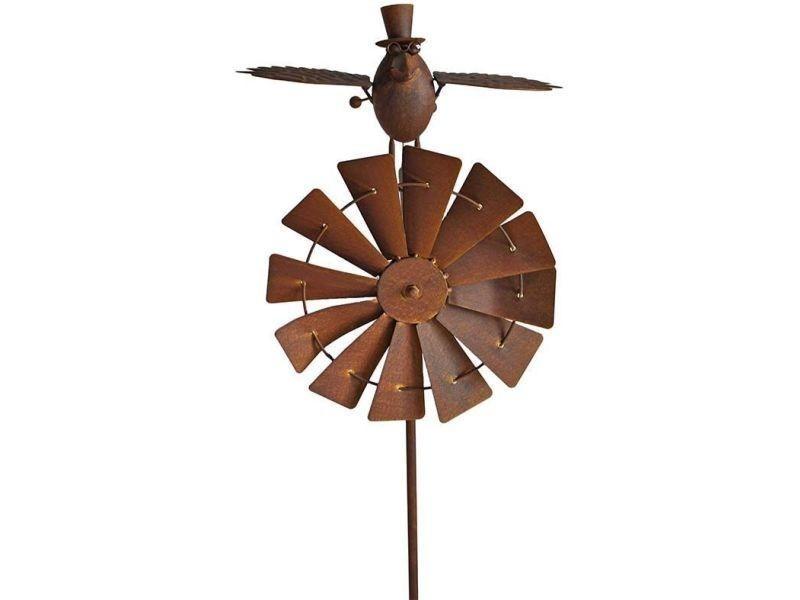 La grande prairie - moulin de jardin en fer prof birdy