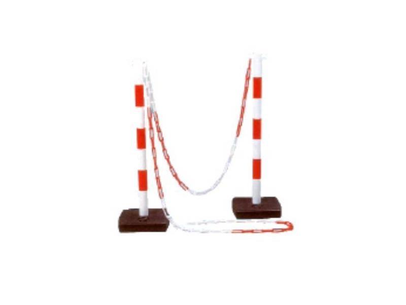 Outifrance - poteau pour chaîne à plastique 90 cm double crochets - 1720100