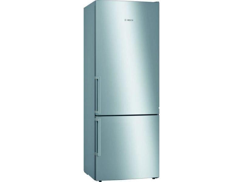 Kge58aicp réfrigérateur combi - 495 l (377 l + 118 l) - brassé lowfrost - a+++ - hxlxp 191 x 70 x 77 cm - inox BOS4242005219032