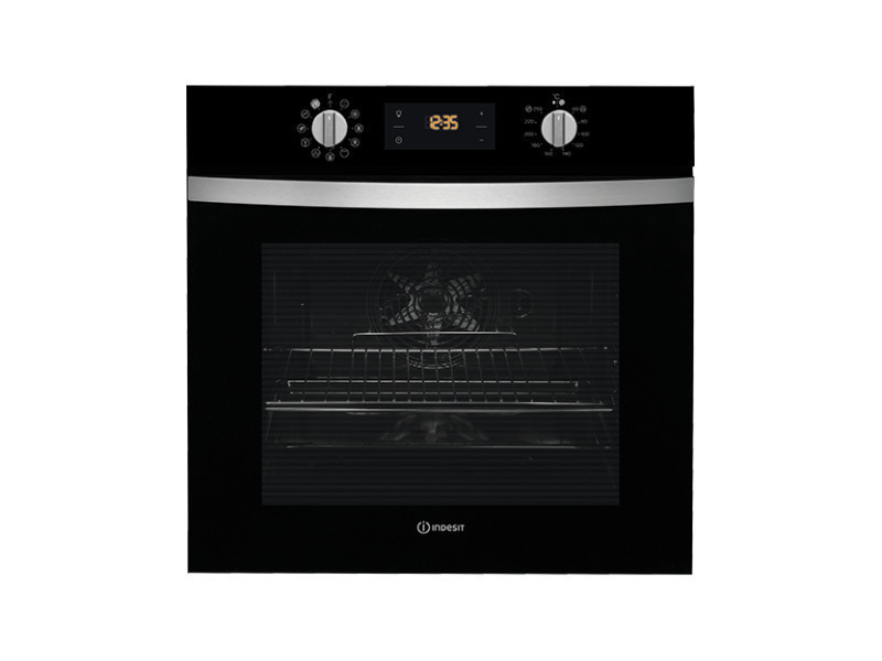 Indesit ifw 4844 h bl electric oven a+ noir four