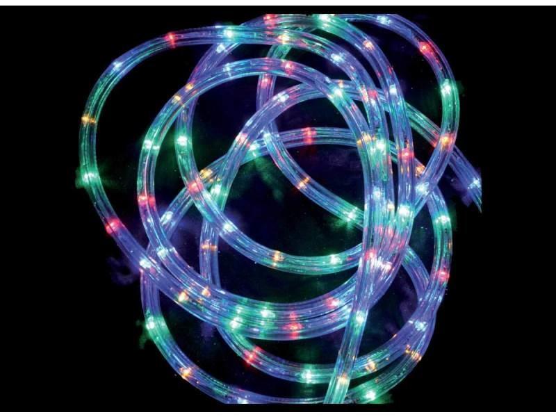 Tube led lumineux 6 mètres ext/int coloris multicolore