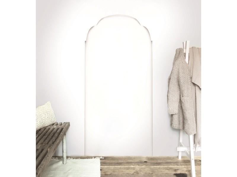 Papier peint panoramique intissé arcade 280 x 150cm blanc