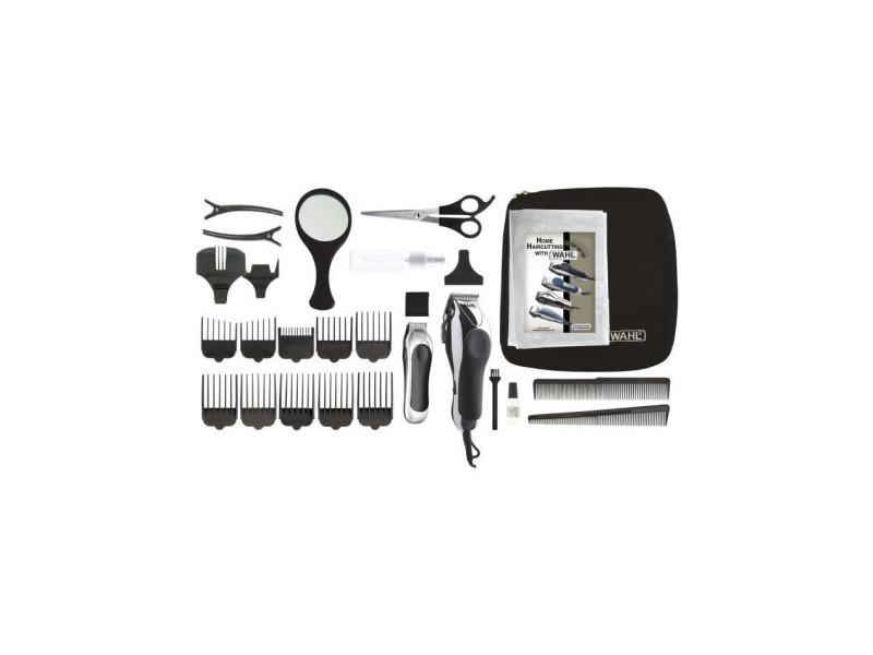 Tondeuse cheveux chrome pro deluxe 79524-2716 - tondeuse filaire made in usa et sa tondeuse de précision - moteur puissa… WAH0043917795003