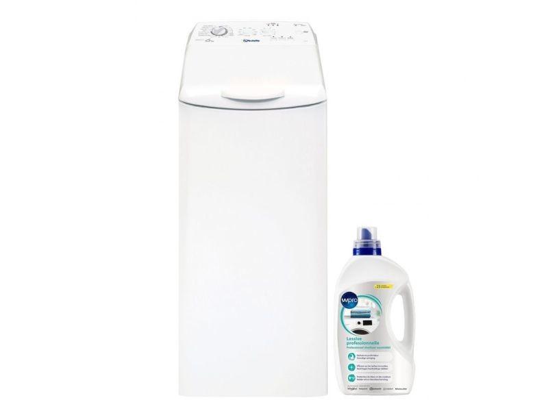Lave-linge top 6kg 1200trs/min 17 programmes machine à laver